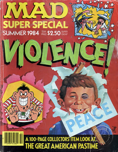 Mad 1984 Super Special - Violence