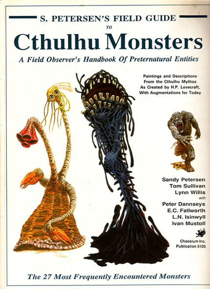 Cthulu Monsters - front