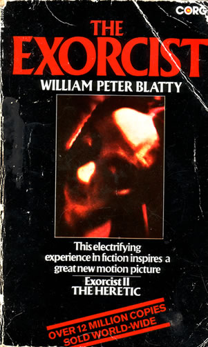 William Peter Blatty - The Exorcist - front