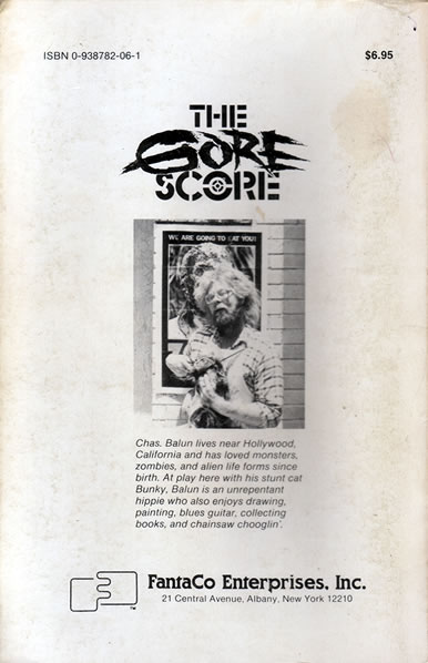 The Gore Score - back