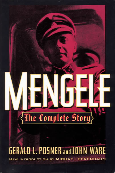 Mengele - The Complete Story - front