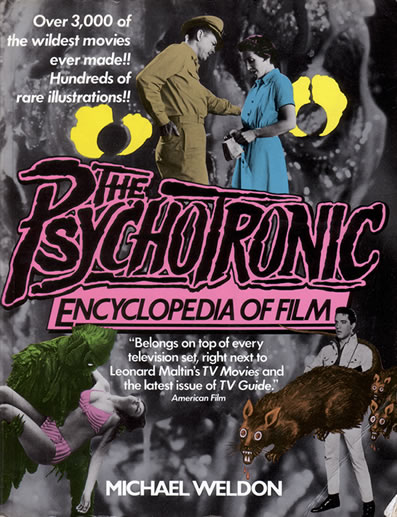 The Psychotronic Encyclopedia Of Film - front