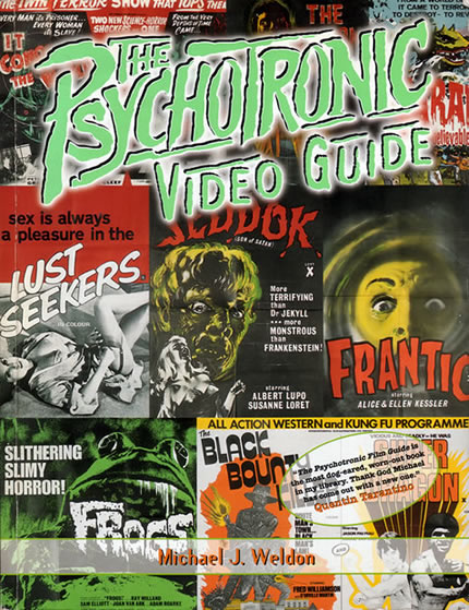 The Psychotronic Video Guide - front