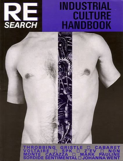 Re-Search - Industrial Culture Handbook - front