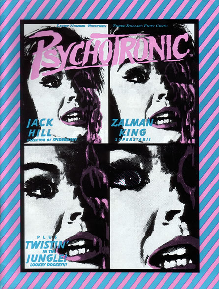 Psychotronic Video #13 - front
