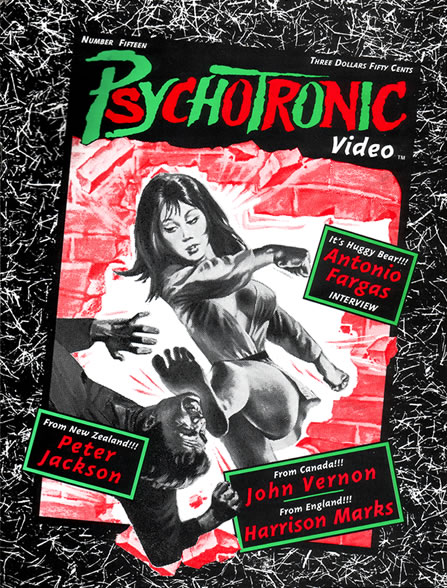 Psychotronic Video #15 - front