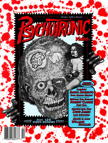 Psychotronic Video #18 - front