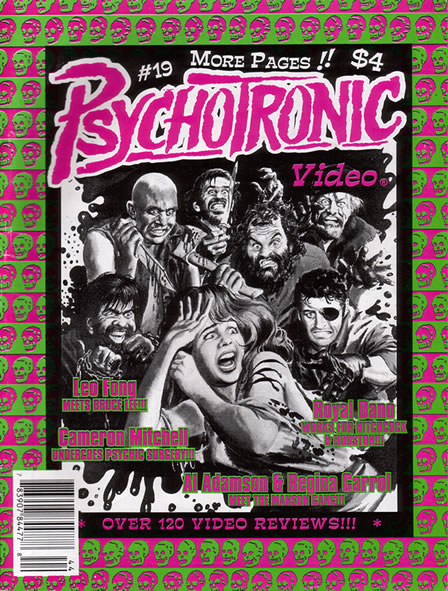 Psychotronic Video #19 - front