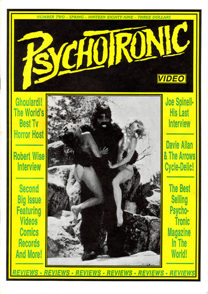 Psychotronic Video #2 - front