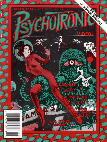 Psychotronic Video #22 - front