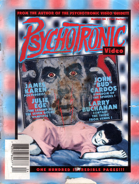 Psychotronic Video #24 - front