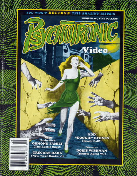Psychotronic Video #26 - front