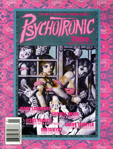 Psychotronic Video #28 - front