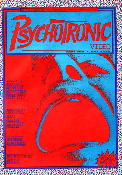 Psychotronic Video #3 - front