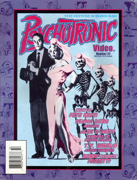 Psychotronic Video #32 - front