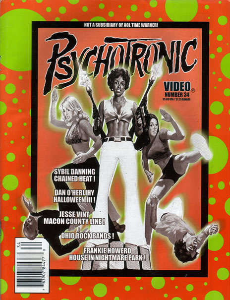 Psychotronic Video #34 - front