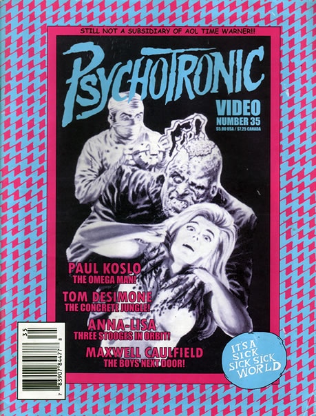 Psychotronic Video #35 - front