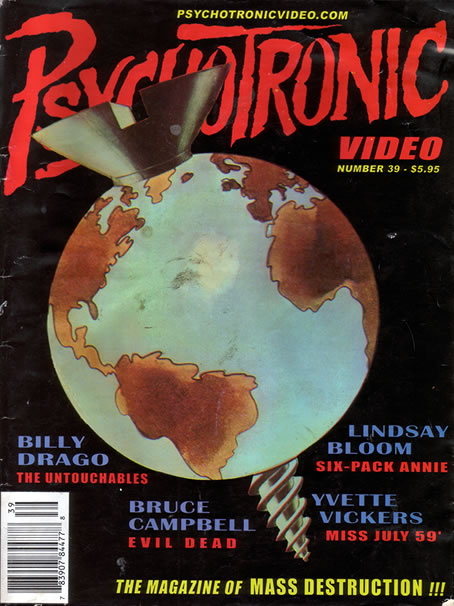 Psychotronic Video #39 - front