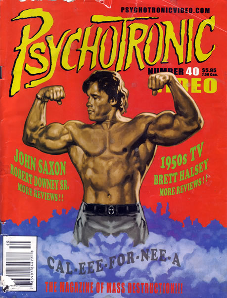 Psychotronic Video #40 - front