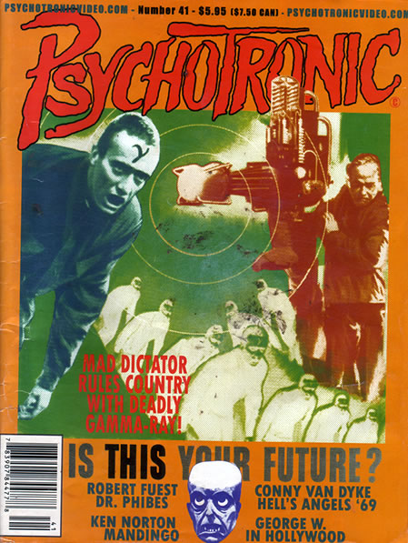 Psychotronic Video #41 - front