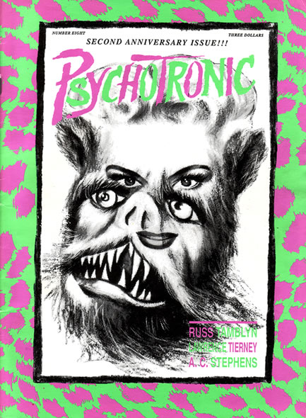 Psychotronic Video #8 - front