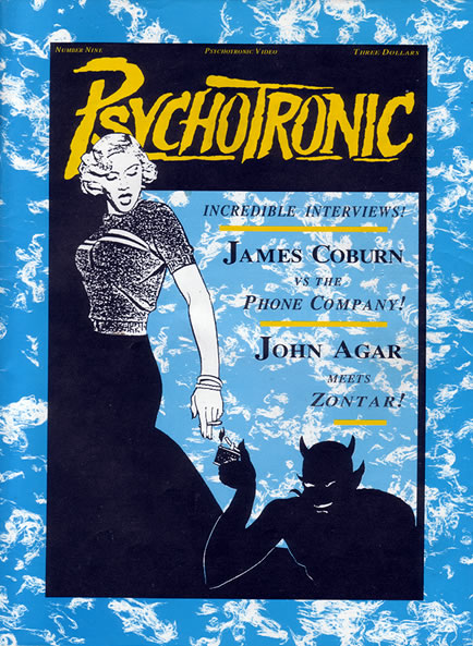 Psychotronic Video #9 - front